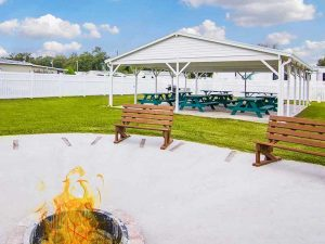 Sunshine-Village-Firepit-Area