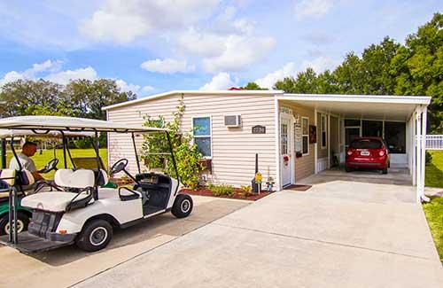 Sunshine Village Home Golf Cart