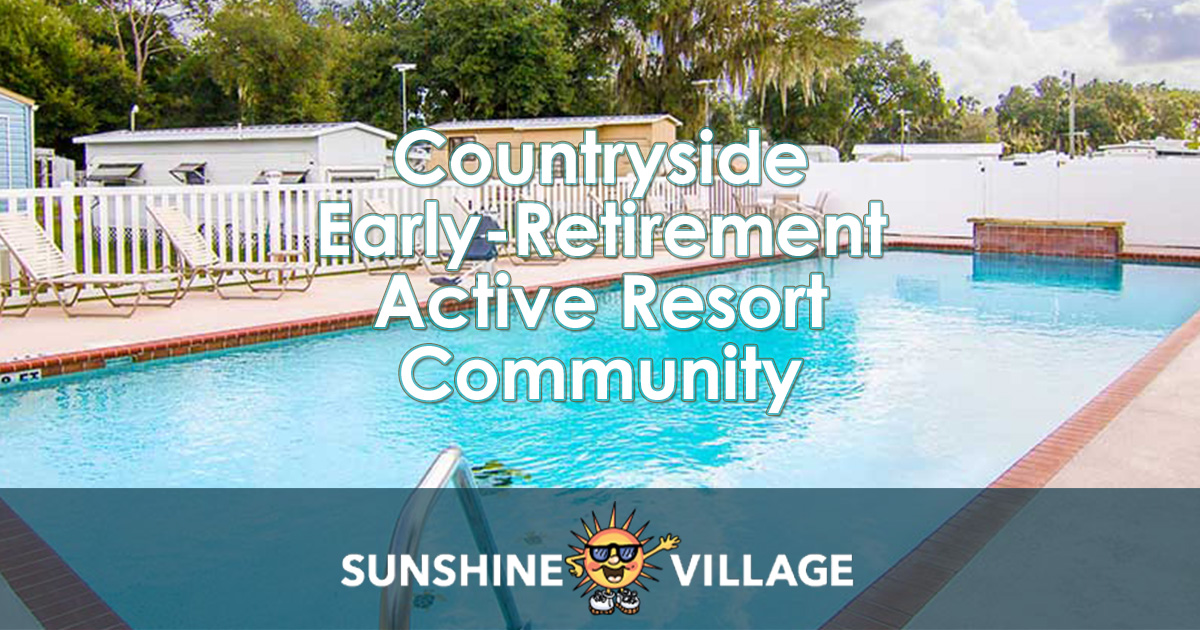 Central Florida Mobile Home Rv Resort Retirement Community